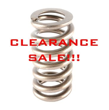 VALVE SPRING CLEARANCE SALE!